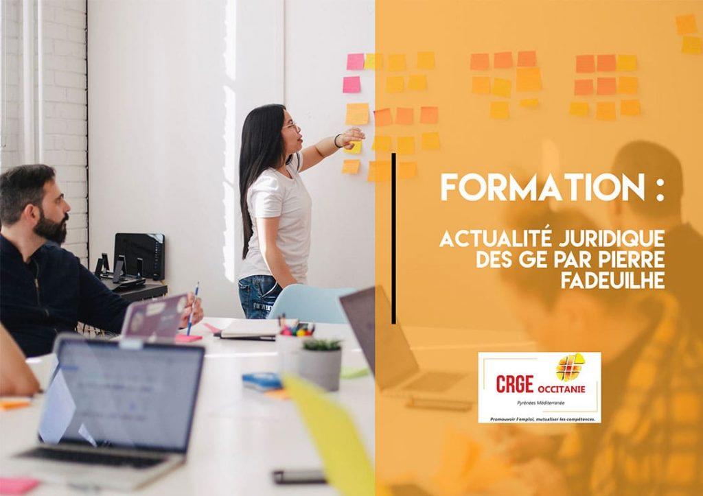 Formation : Actualité juridique des GE – 03 et 04 Décembre 2020