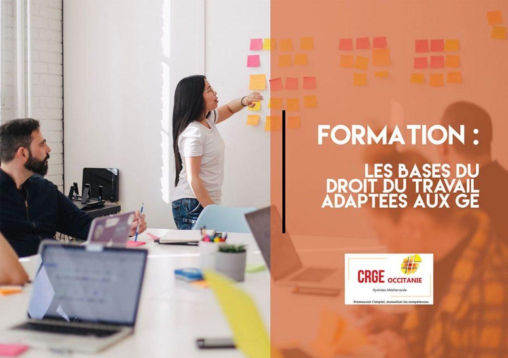 Formation : Les bases du droit du travail adaptées aux GE – 19 Mai 2020