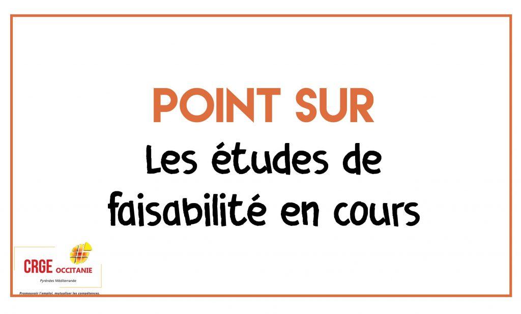 Les études de faisabilité du CRGE Occitanie