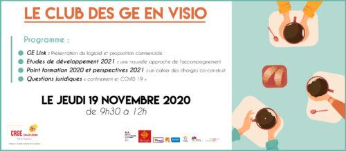 Club des GE du CRGE Occitanie - 19 Novembre 2020