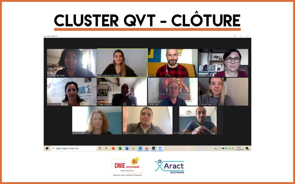 Clôture du Cluster QVT et Marque-Employeur