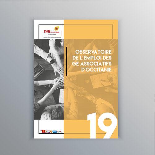 Observatoire du CRGE Occitanie - Rapport Statistique de l'emploi en GE Associatifs en Occitanie - 2019
