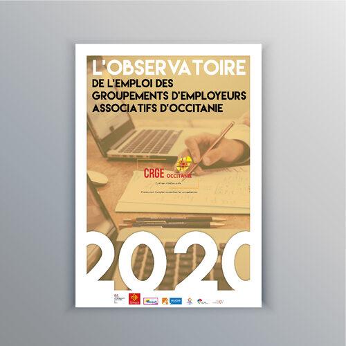 Observatoire du CRGE Occitanie - Rapport Statistique de l'emploi en GE Associatifs en Occitanie - 2020