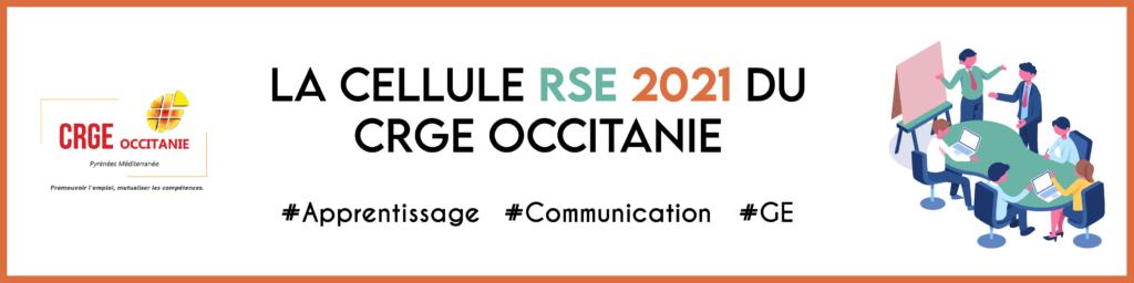 Cellule RSE 2021 CRGE Occitanie