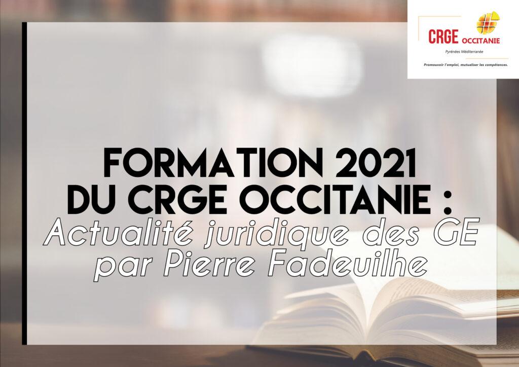 Formation : Actualité Juridique – 2/3 décembre 2021