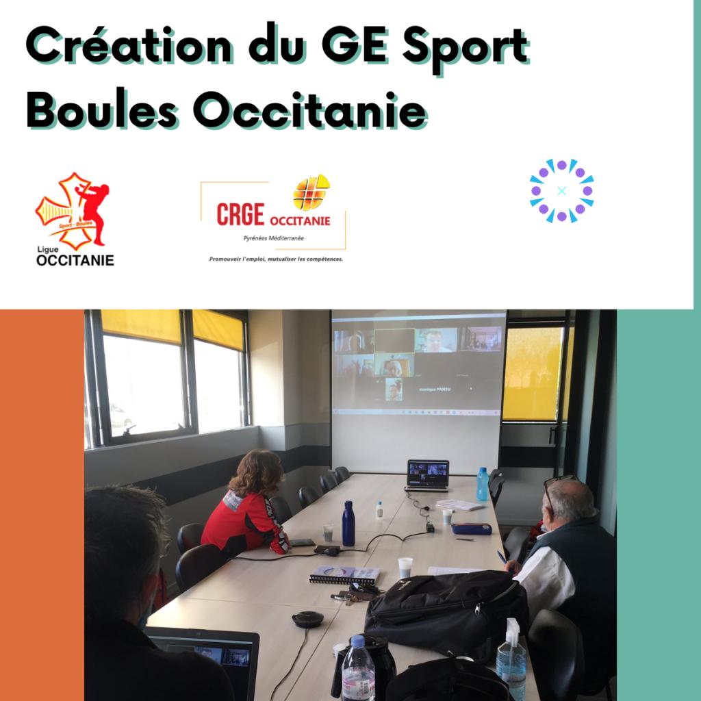 Création d'un Groupement d'Employeurs – Sport Boules