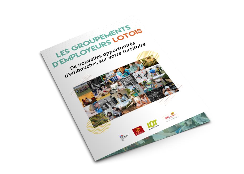Plaquette Communication - Groupements d'employeurs Lotois